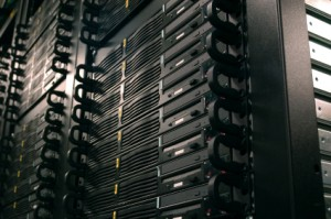 Image of a server rack